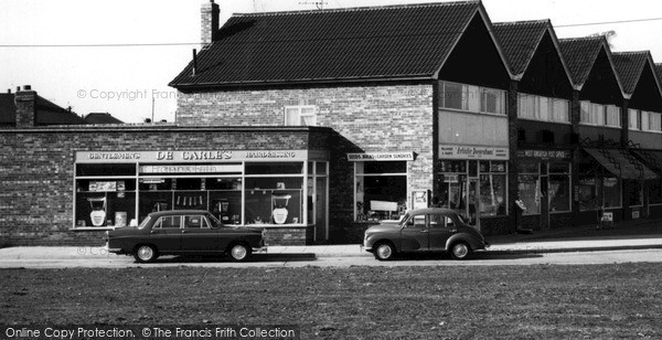 Photo of West Knighton, The Shops, Aberdale Road c.1960