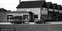 West Knighton, The Shops, Aberdale Road c.1960