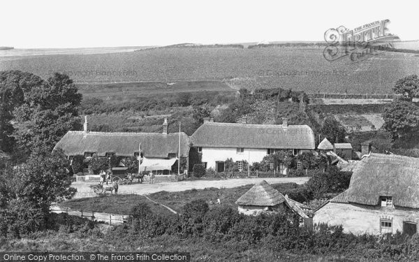 West Lulworth, Castle Inn 1904