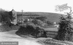 Church Road c.1950, West Lulworth