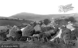 Farm Yard 1904, West Lulworth