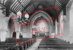 Holy Trinity Church Interior 1894, West Lulworth