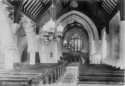 Holy Trinity Church Interior 1904, West Lulworth