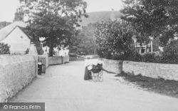 Main Road, Perambulator 1904, West Lulworth