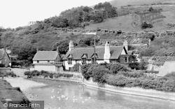 The Pond c.1955, West Lulworth