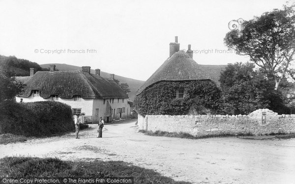 West Lulworth, the Village 1904