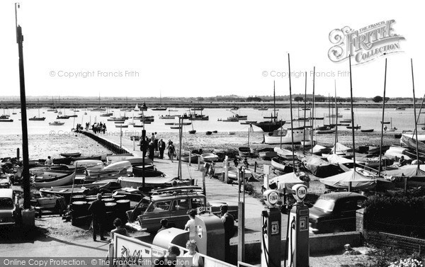 West Mersea, the River Blackwater 1963