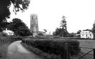 West Monkton, the Church c1960