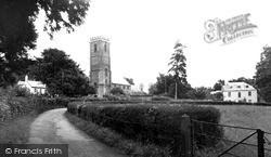 West Monkton, Church Of St Augustine c.1955