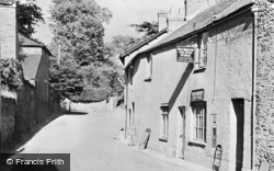 West Monkton, Post Office c.1950