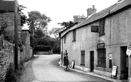West Monkton, the Street c1955