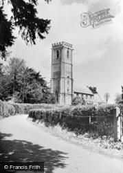 West Monkton, St Augustine's Church c.1950