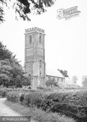 West Monkton, The Church c.1960