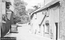 West Monkton, The Street c.1950