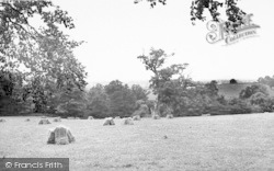 West Monkton, View From Monkton Hill c.1955
