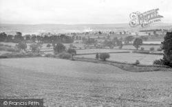 West Monkton, View Of Taunton c.1955
