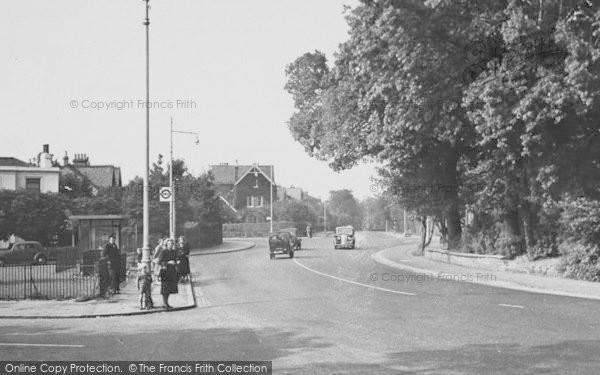 Photo of West Norwood, Alleyn Road c.1955