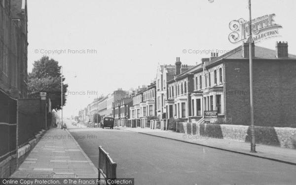 Photo of West Norwood, Gipsy Road c.1955