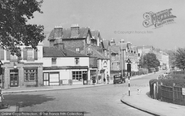 Photo of West Norwood, Salters Hill c.1955