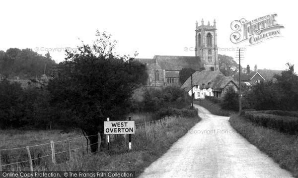 Photo of West Overton, c.1955