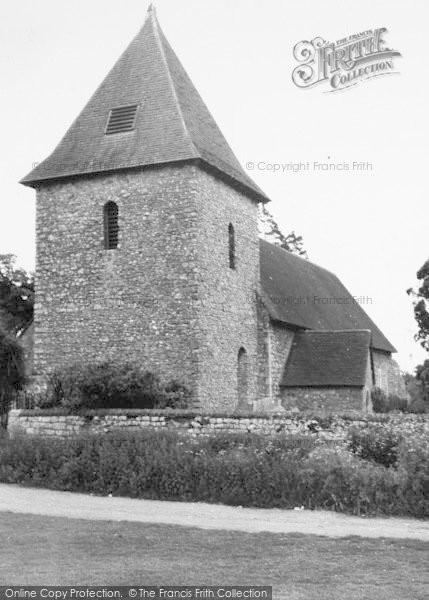Photo of West Peckham, St Dunstan's Church c.1960