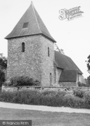 St Dunstan's Church c.1960, West Peckham