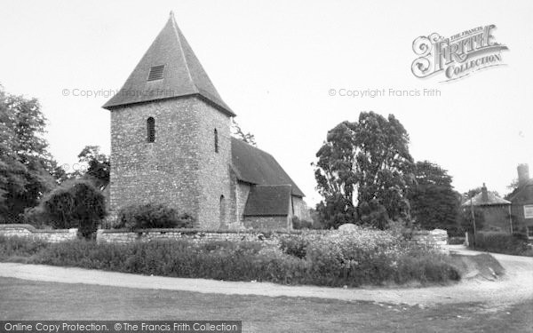 Photo of West Peckham, The Church c.1960