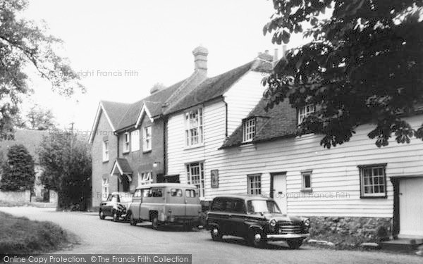 Photo of West Peckham, The Swan Inn c.1960
