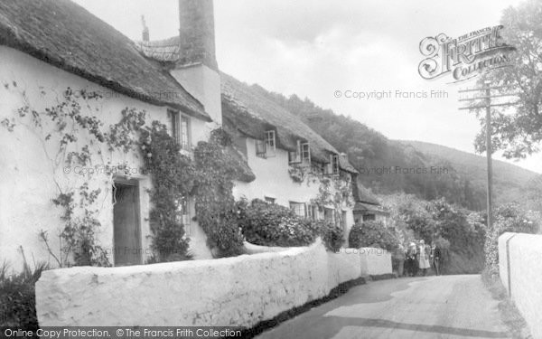 Photo of West Porlock, 1929