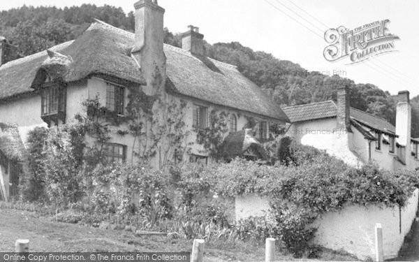 Photo of West Porlock, c.1955