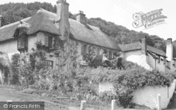 c.1955, West Porlock