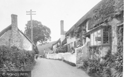 Leather Workers Cottage 1923, West Porlock