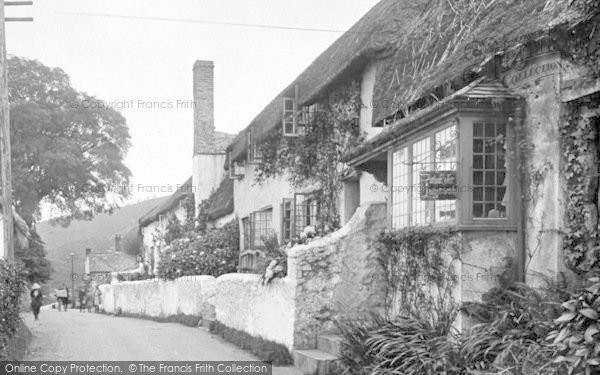Photo of West Porlock, Leather Workers Cottage 1923