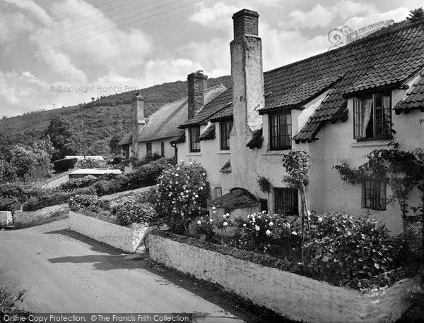 Photo of West Porlock, The Village 1929