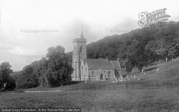 Photo of West Quantoxhead, St Etheldreda Church And Park 1903
