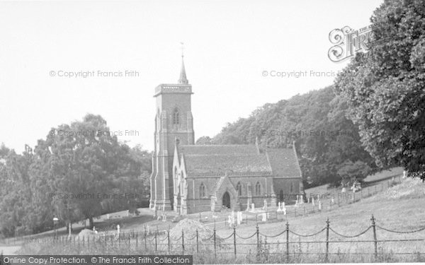 Photo of West Quantoxhead, The Church c.1960
