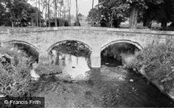 14th Century Packhorse Bridge c.1955, West Rasen