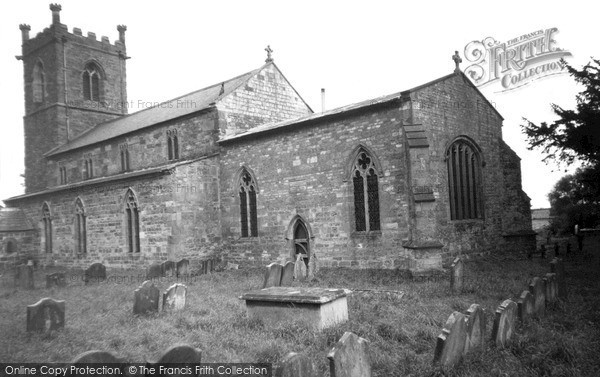 Photo of West Rasen, All Saints Church c.1955