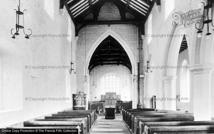 Photo of West Rasen, All Saints' Church, Interior c.1955