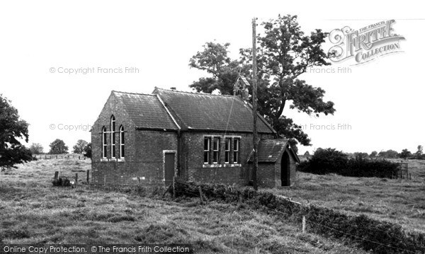 Photo of West Rasen, Village Hall c.1955
