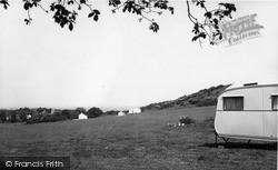Caravan Club Site c.1960, West Runton