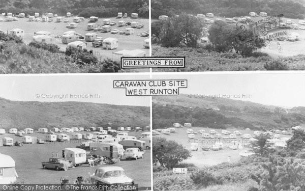 Photo of West Runton, Caravan Club Site Composite c.1960