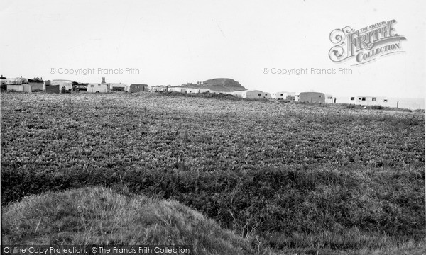 Photo of West Runton, Caravan Site c.1955