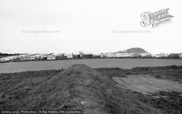 Photo of West Runton, Cliff Caravan Site c.1960