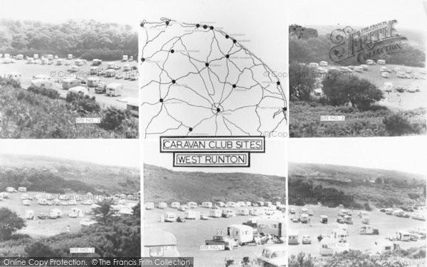 Photo of West Runton, Composite c.1960