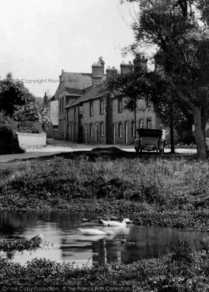 Photo of West Runton, Duck Pond On The Common 1923