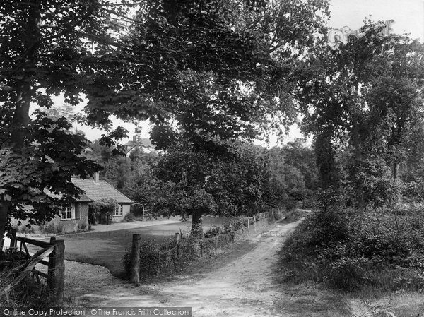 Photo of West Runton, Entrance To Woods 1925