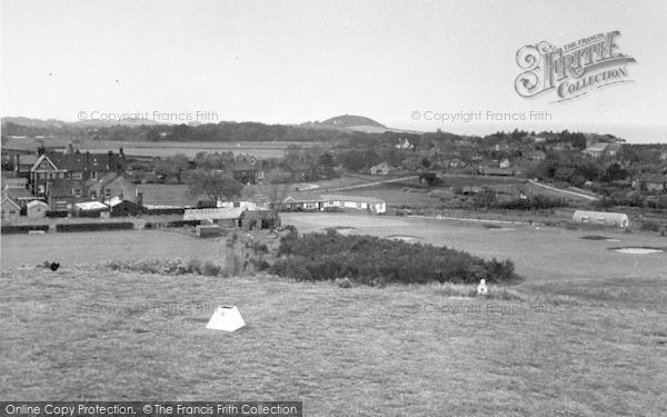 Photo of West Runton, From The Golf Links c.1955