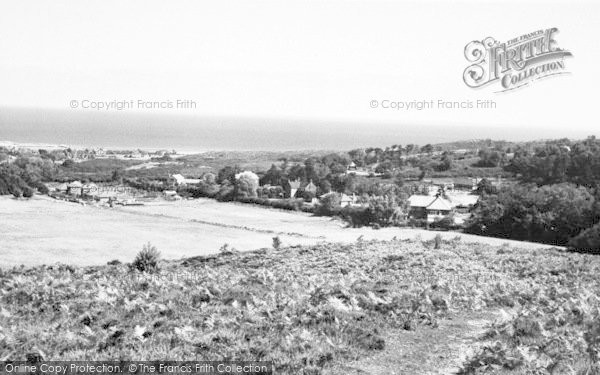 Photo of West Runton, From The Roman Camp c.1960