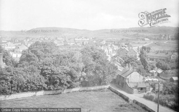Photo of West Runton, General View 1925